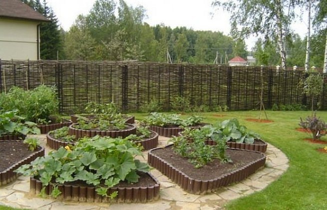 огородные хитрости своими руками с фото