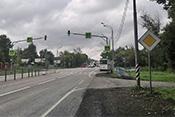 4. Проезжаете второй светофор перед автобусной остановкой