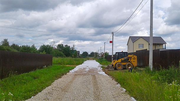 """ремонт дороги """"Чистые пруды"""""""