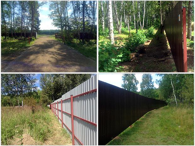 Строительство въездной группы КП «Венский лес»